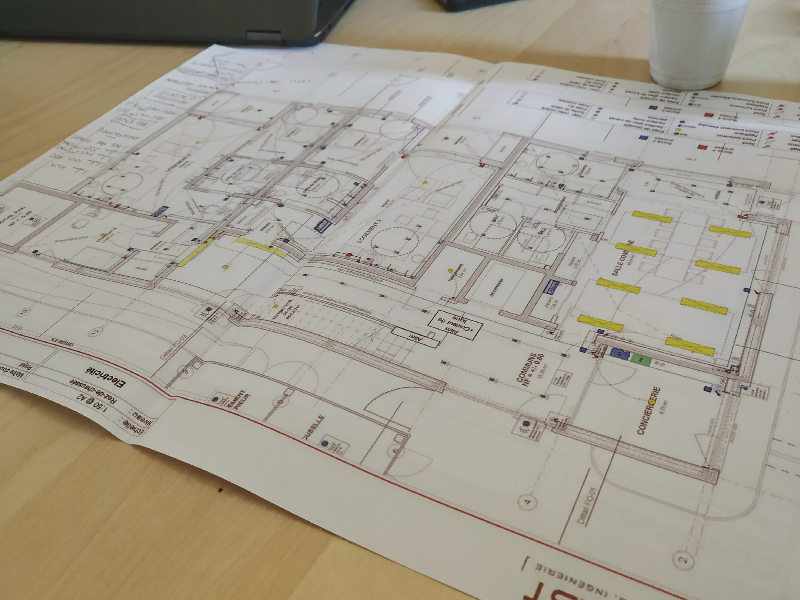 Plan architecture schleithal domotique